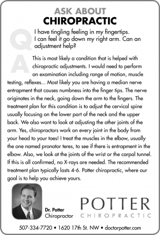 Ask About Chiropractic