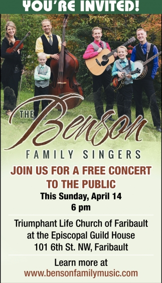 The Benson Family Singers
