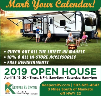 2019 Open House - April 18,19,20