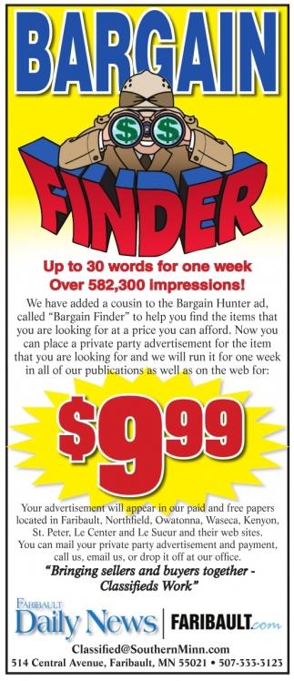 Bargain Finder