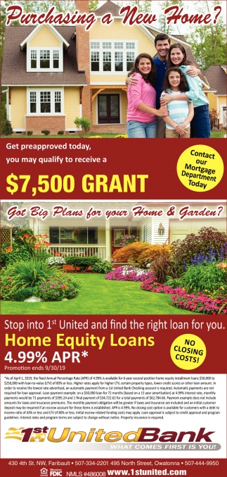 Purchasing a New Home?