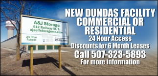 New Dundas Facility Commercial or Residential