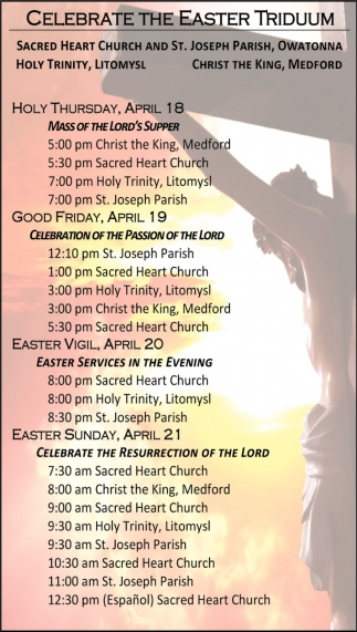 Celebrate the Easter Triduum