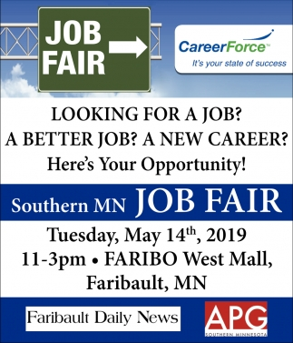 Looking for a job? A better job? A new career? Here's Your Opportunity
