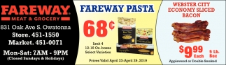 Fareway Pasta 68 ¢