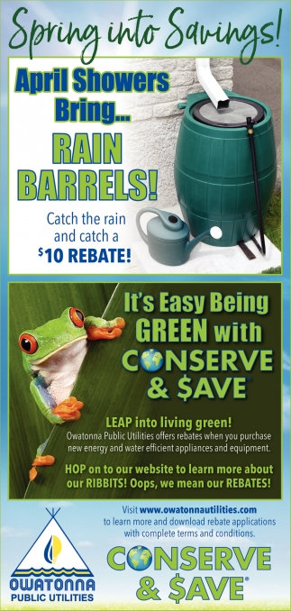 April Showers Bring... Rain Barrels!