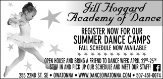 Register now for our Summer Dance Camps