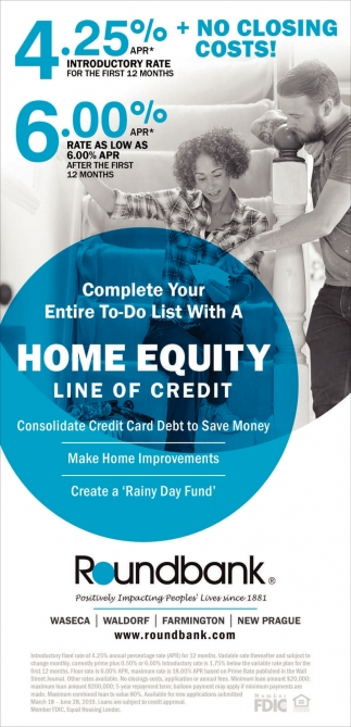 Complete Your Entire To-Do List With A Home Equity Line of Credit