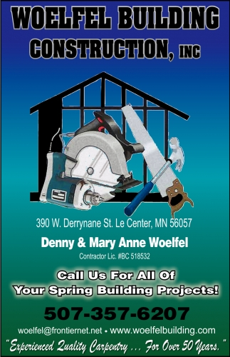 Call Us For All Of Your Spring Building Projects!