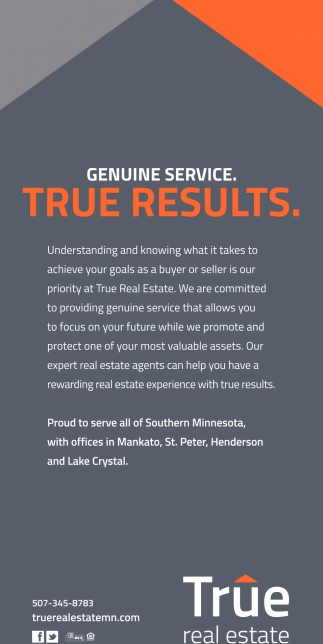 Genuine Service. True Results