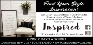 Find Your Style Inspiration!