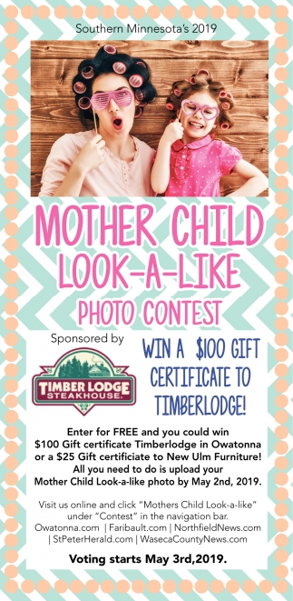 Win a $100 gift certificate to Timberlodge!
