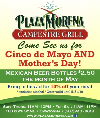 Cinco de Mayo And Mother's Day!