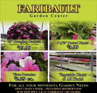 For all your Minnesota Garden Needs