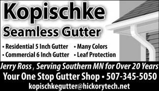 Your One Stop Gutter Shop