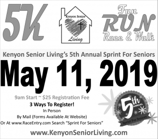 5th Annual Sprint For seniors