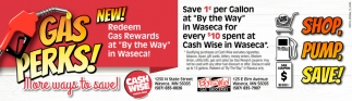 New Redeem Gas Rewards at By the Way