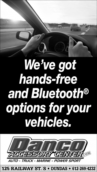 We've got hands-free and Bluetooth options for your vehicles