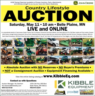 Country Lifestyle Auction