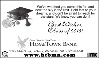 Best Wishes, Class of 2016!