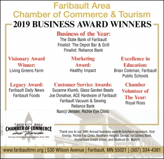 2019 Business Award Winners