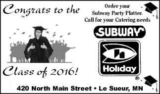 Congrats to the Class of 2016!