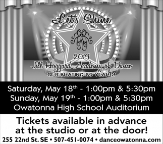 Celebrating 39 Years! At Owatonna High School Auditorium