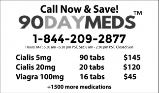Call Now & Save!