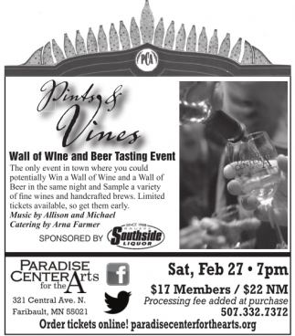 Wall of Wine and Beer Tasting Event