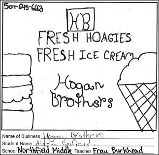 Fresh Hoagies. Fresh Ice Cream