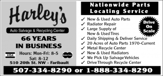 Nationwide Parts Locating Service