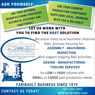 Let us work with you to find the best solution