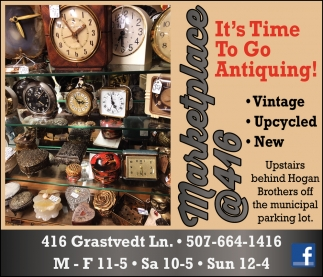 It's Time To Go Antiquing!