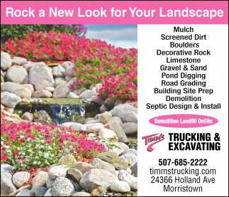 Rock a New Look for Your Landscape