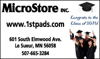 Ads For Micro Store Inc in Southern Minn