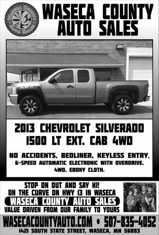 2013 Chevrolet Silverado 1500 LT Ext. Cab 4WD