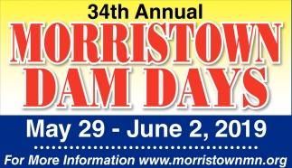 34th Annual Morristown Dam Days