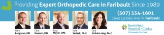 Providing Expert Orthopedic Care in Faribault