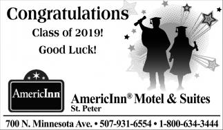 Congratulations Class of the 2019!