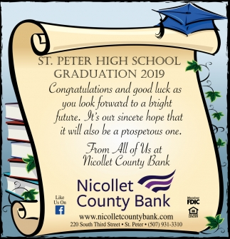 St. Peter High School Graduation 2019