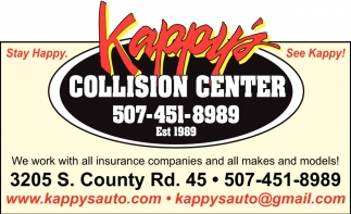 We work with all insurance companies and all makes and models!