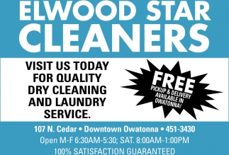 Free Pickup & Delivery Available in Owatonna