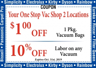 Your One Stop Vac Shop 2 Locations, Austin Vacuum Center, Austin, MN