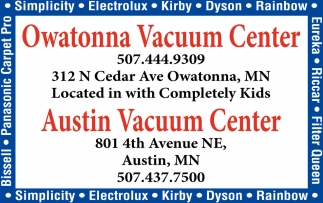 2 Locations: Owatonna & Austin, Austin Vacuum Center, Austin, MN