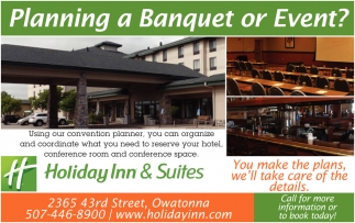 Planning a Banquet or Event?