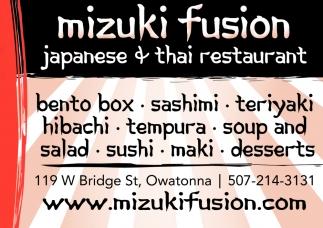 Japanese and Thai Restaurant
