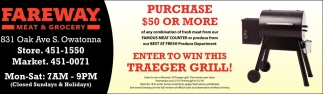 Enter Win This Traeger Grill!