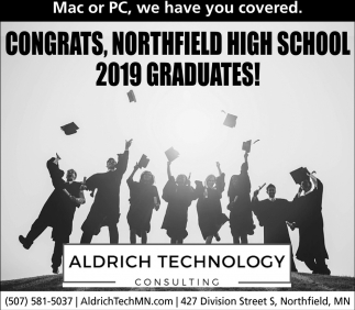 Congrats, Northfield High School 2019 Graduates!