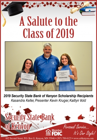 A Salute to the Class of 2019