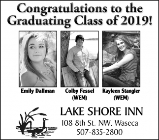 Congratulations to the Graduating Class of 2019!